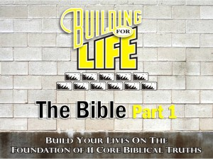 08-25-2010 (BFL - Foundations) The Bible Part 1