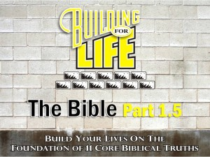 09-01-2010 (BFL - Foundations) The Bible Part 1.5