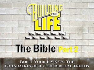09-08-2010 (BFL - Foundations) The Bible Part 2