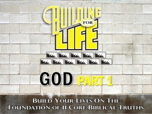 09-22-2010 (BFL - Foundations) God Part 1