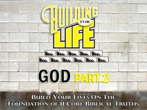 10-06-2010 (BFL - Foundations) God Part 2