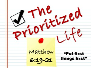 10-28-15 WED The Prioritized Life