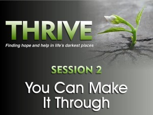 01-13-2016 THRIVE - Session 2 - You Can Make It Through
