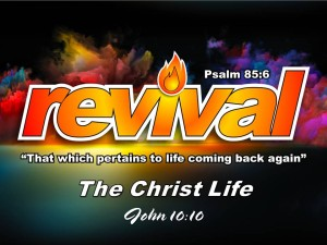 12-20-2015 SUN REVIVAL - The Christ Life (John 10 10)