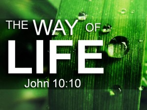 04-13-2016 WED - The Way of Life (John 10 10)